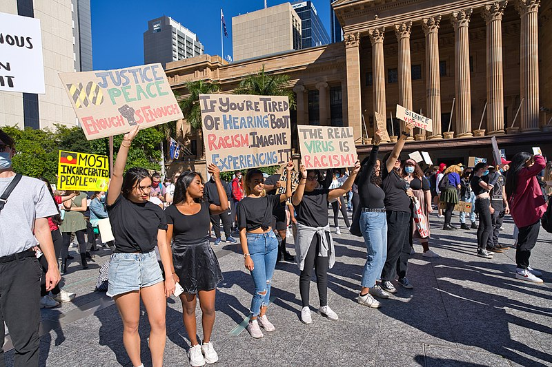 Brisbane Anti-Racism Protest - 6 June 2020 - AndrewMercer